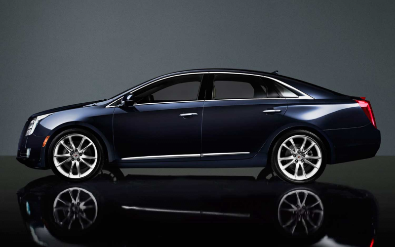 410-HP 2014 Cadillac XTS Gets Revised Grille, Other Updates Photo ...