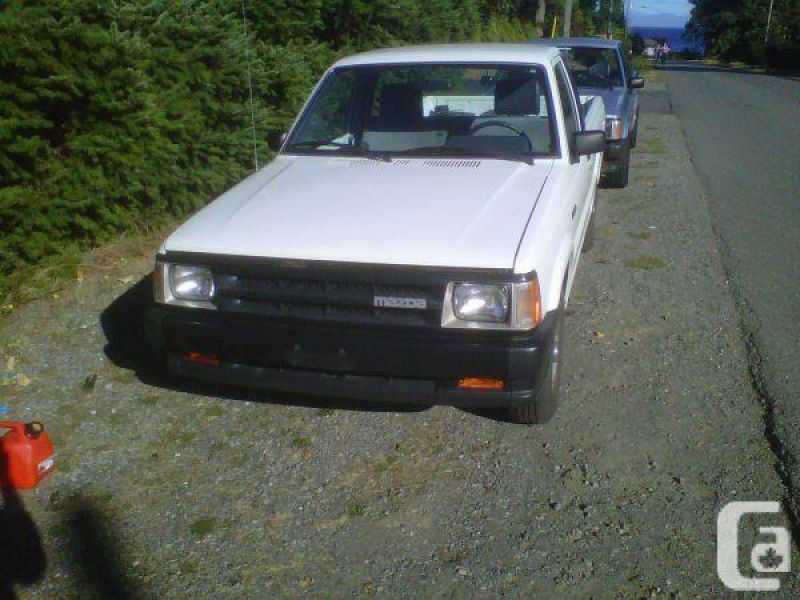 1992 Mazda B2200 parts truck - $1234 (Van Island) in Nanaimo, British ...