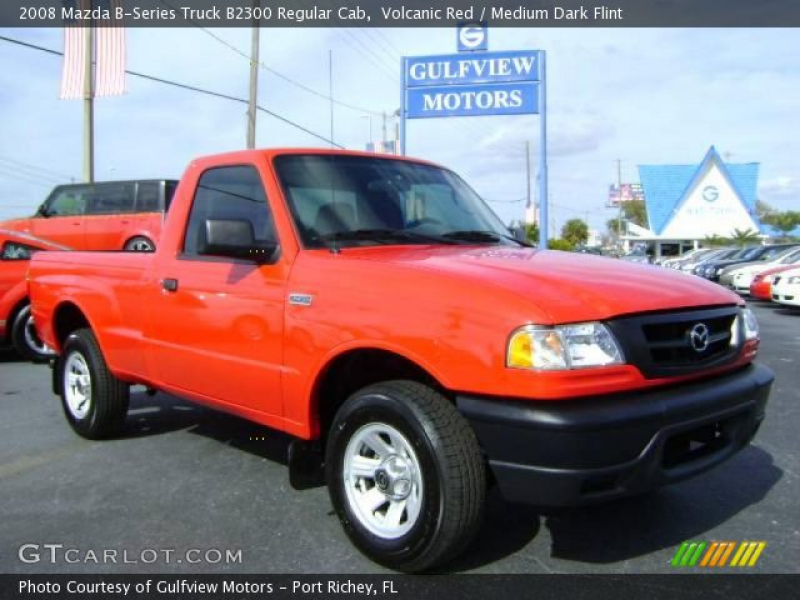 2008 Mazda B-Series Truck B2300 Regular Cab in Volcanic Red. Click to ...