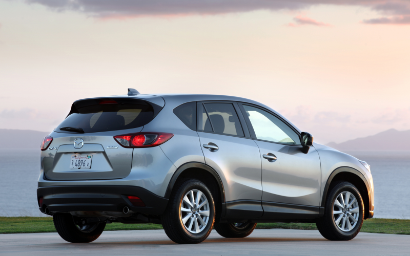 2014 Mazda CX-5 Gets 185-HP 2.5L I-4