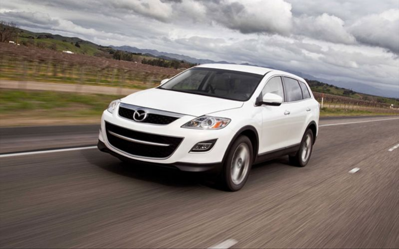 2011 Mazda Cx 9 Awd Front Three Quarters In Motion