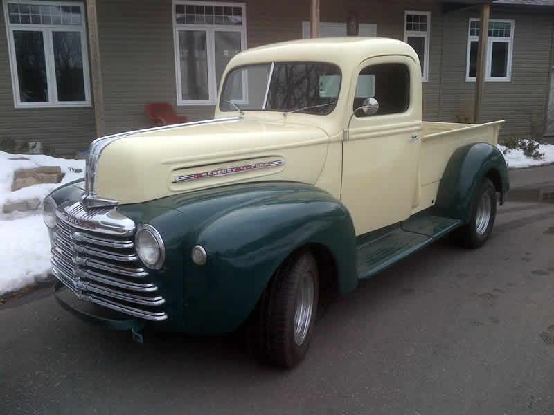 Photos Of 1947 Mercury Pickup Truck