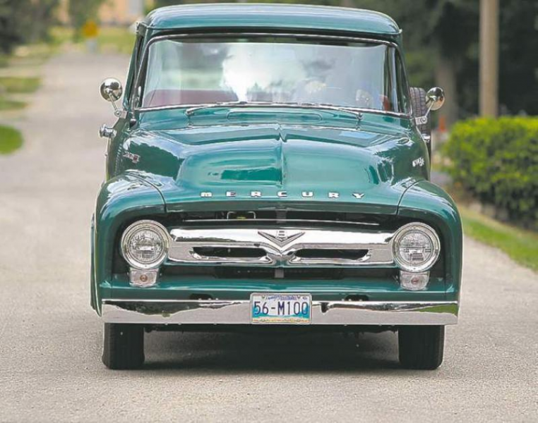 ernie klohn s 1956 mercury m100 pick up
