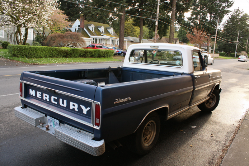 Revisited: 1968 Mercury 100 Ranger Pickup.