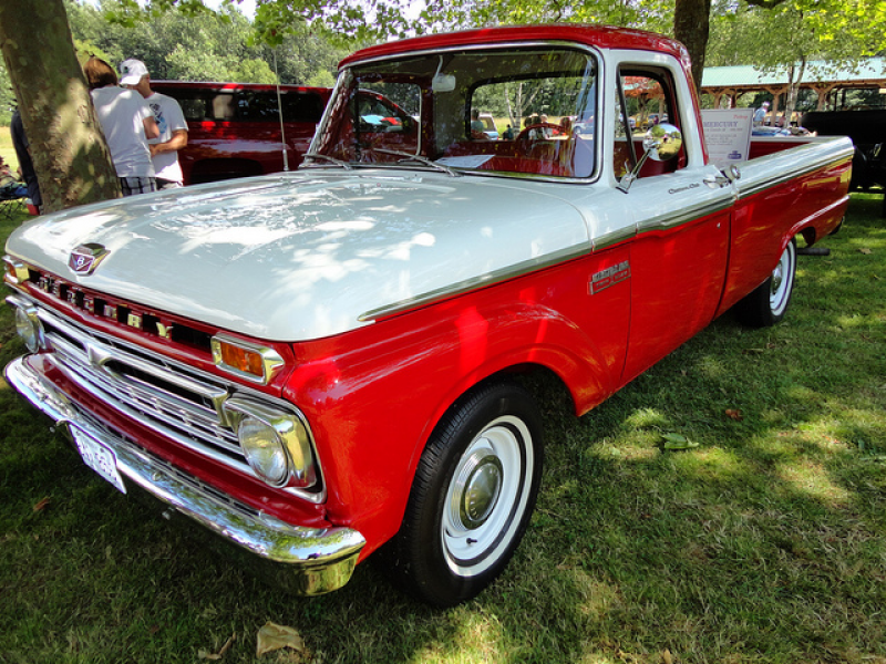 1966 Mercury Custom Cab M-100 Pickup Truck is creative inspiration for ...