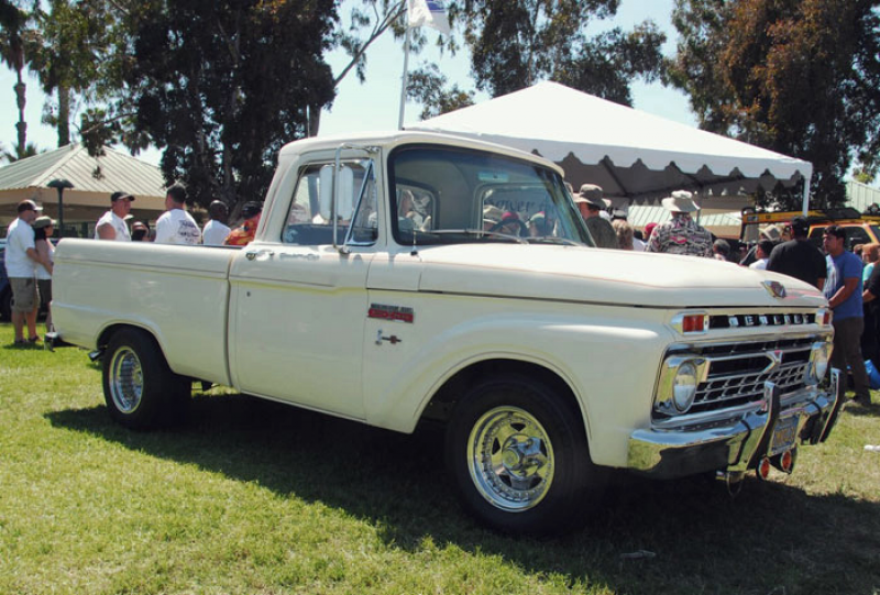 This near-stock 1965 Mercury M-100 pickup won an award at the 2013 ...