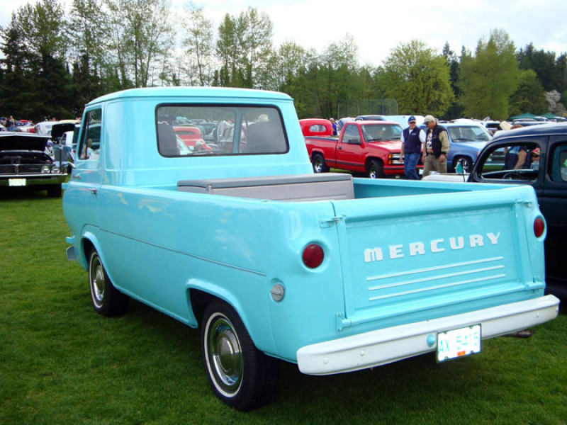 It is unknown at this time the production numbers of Mercury Econoline ...