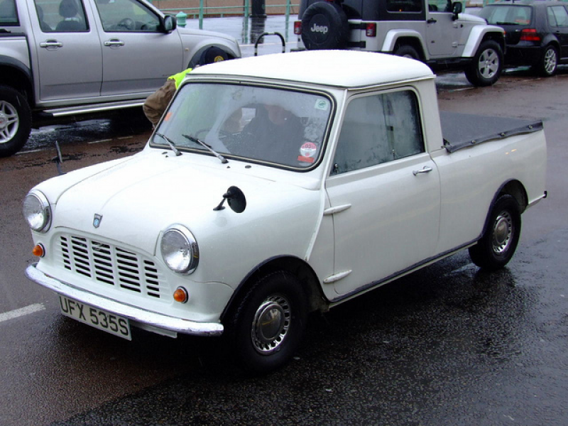 Mini Pickup Photo from http://www.flickr.com/photos/old_motors ...