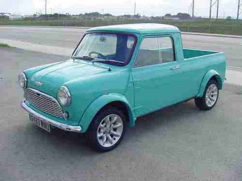 Mini Cooper Pick Up 1983 Austin Morris on 2040-cars