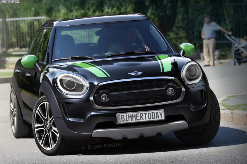 TAGS: F56 , F56 MINI , F60 MINI Countryman