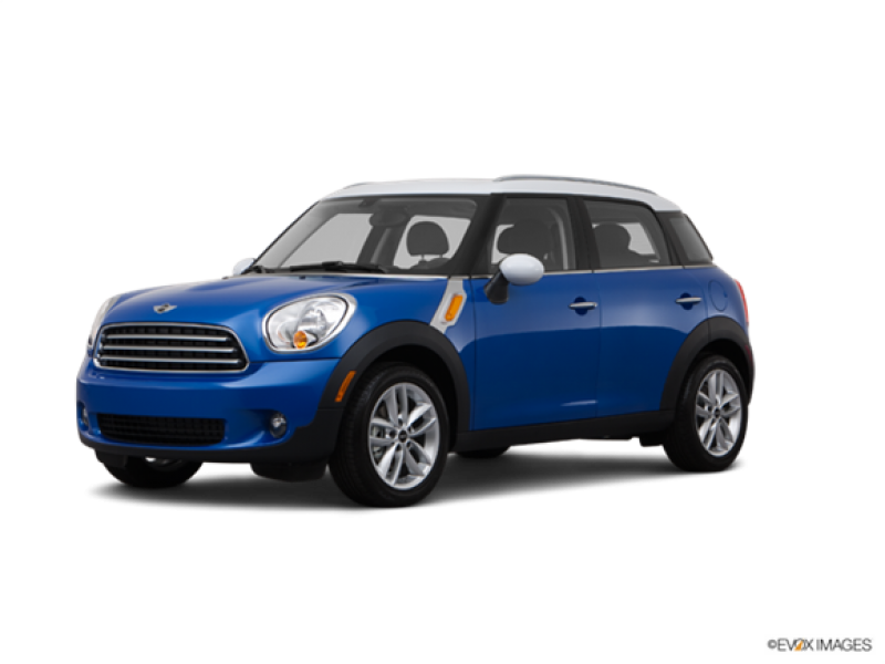 2012 mini cooper countryman red