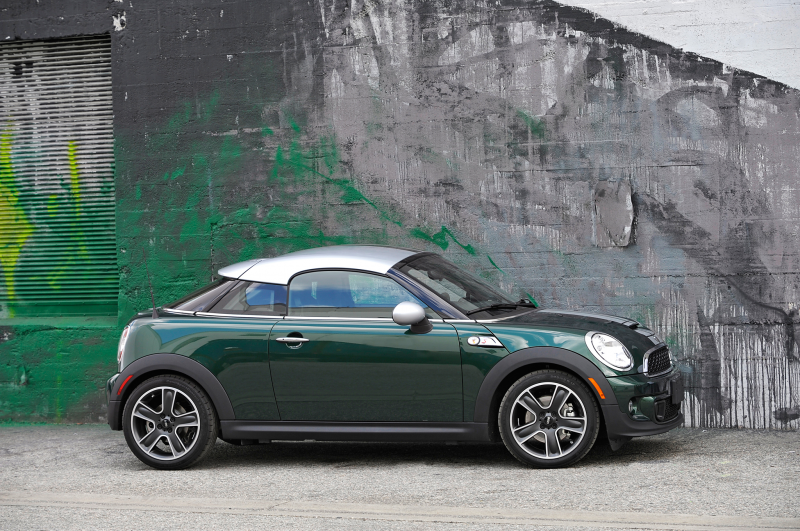 2013 Mini Cooper S Coupe Side