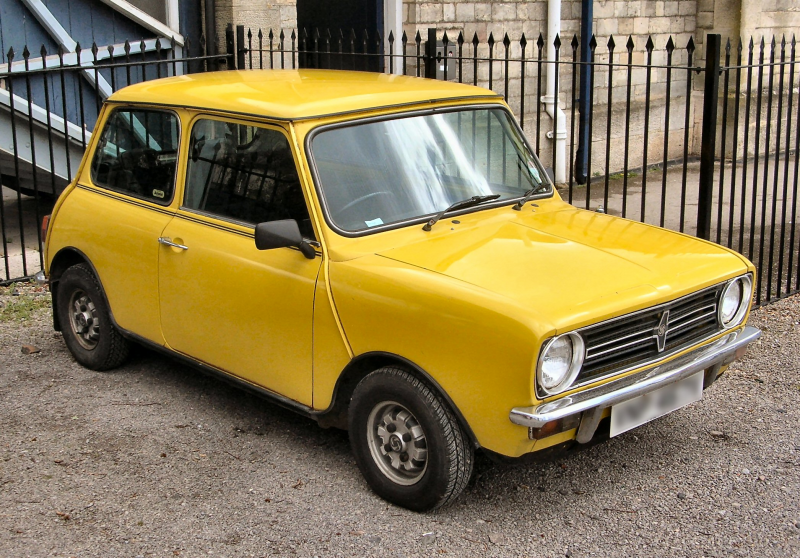 Description Mini Clubman 1980.JPG