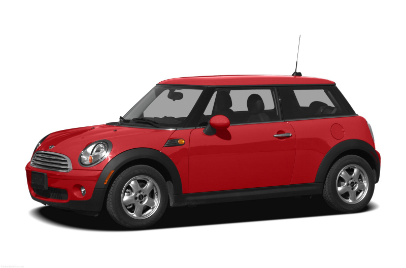 2010 MINI Cooper Coupe Hatchback Base 2dr Hatchback Exterior Front ...