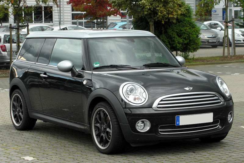 Description Mini Cooper Clubman Facelift front 20100926.jpg