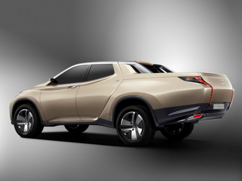 ... 2013: Mitsubishi GR-HEV is a diesel-electric hybrid pickup truck