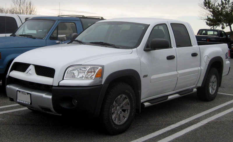 Description Mitsubishi Raider crew cab.jpg