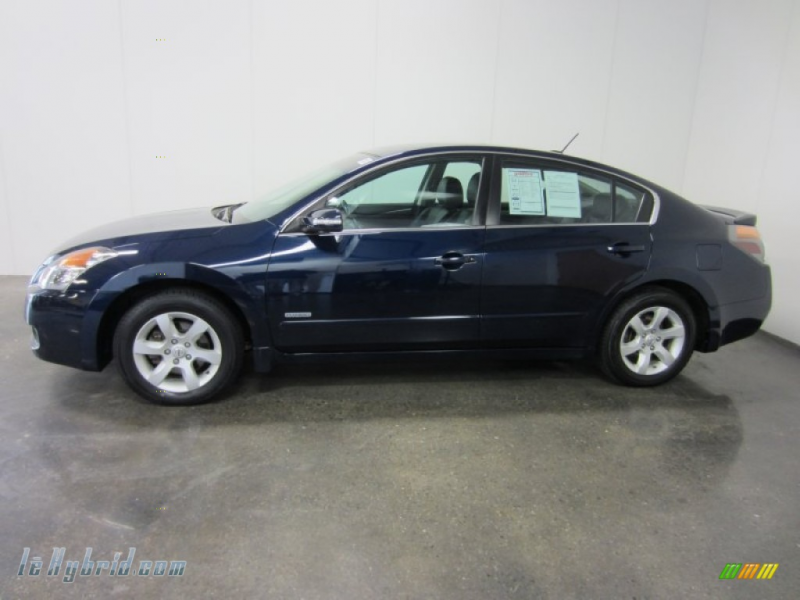 2008 Altima Hybrid - Majestic Blue Metallic / Charcoal photo #3
