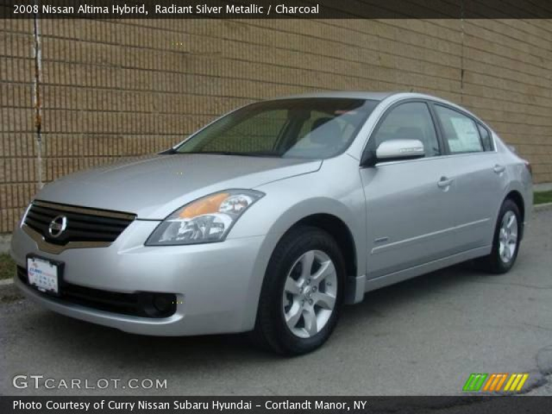 2008 Nissan Altima Hybrid in Radiant Silver Metallic. Click to see ...