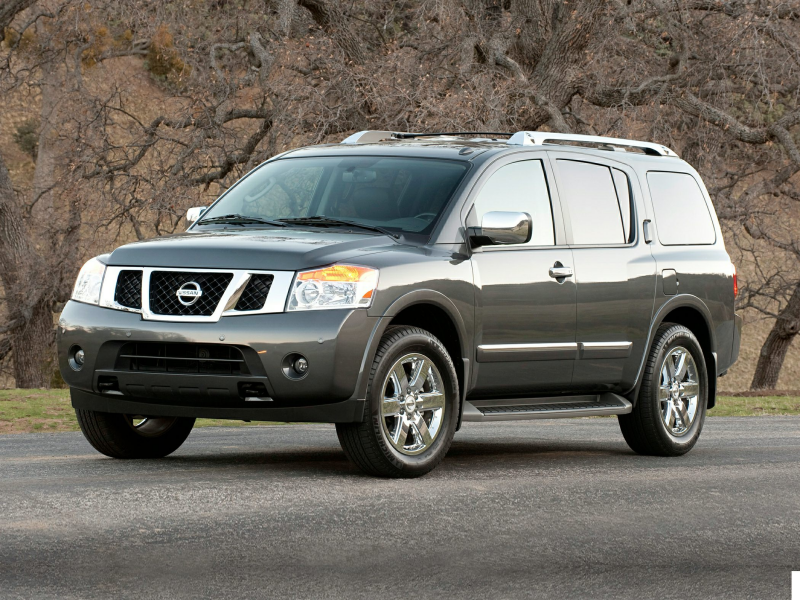 2014 Nissan Armada Price, Photos, Reviews & Features
