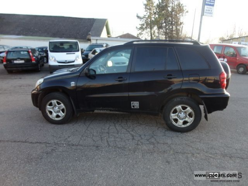 2004 Toyota RAV4 D-4D 4x4, AIR, Truck 2 SEATS Off-road Vehicle/Pickup ...