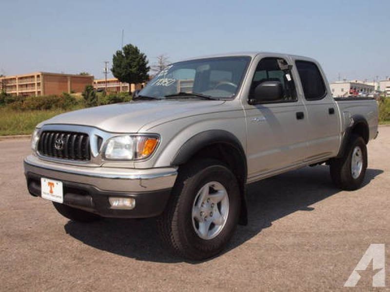 2004 Toyota Tacoma Pickup Truck SR5 4x4 for sale in Knoxville ...
