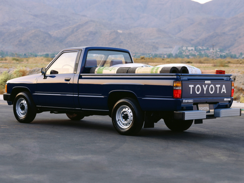 Toyota Truck SR5 Long Bed Sport 2WD '1986–88