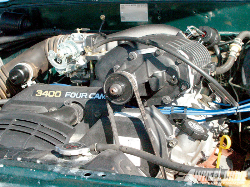 1985 Toyota Pickup V6 Engine