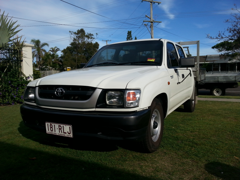 2001 Toyota Hilux Birtinya QLD 4575 (Sunshine Coast)