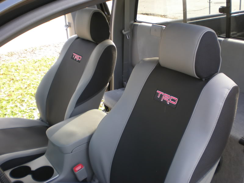 Re: An FYI - Tacoma/TRD Seat Covers