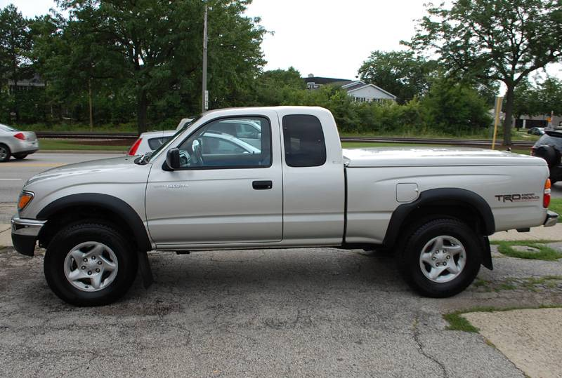2002 Toyota Tacoma Extended Cab SR5 TRD 4x4, One Owner