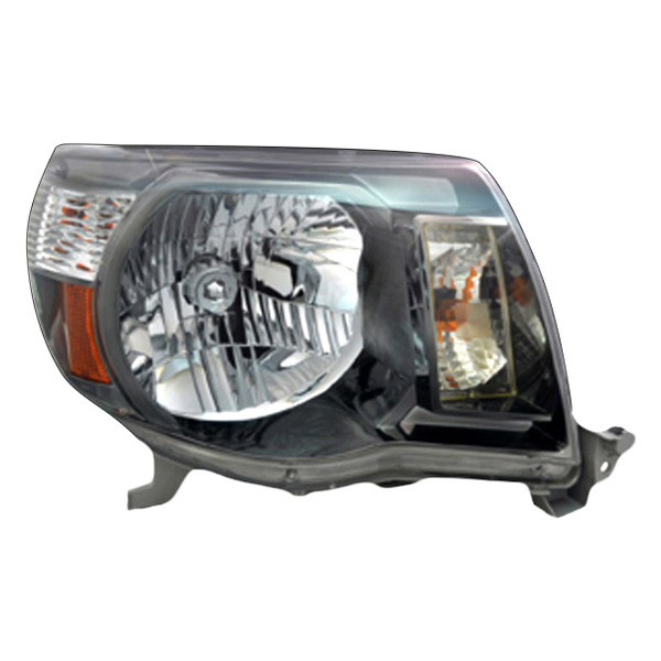 ... -90 - Passenger Side Replacement Headlight (Chrome, with Clear Lens