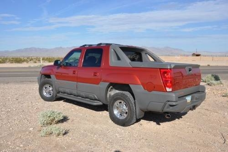 2002 Chevy Avalanche 2500 3/4 ton Automatic 4 wheel Drive in Diamond ...