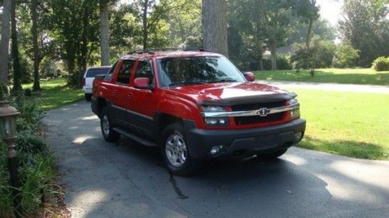 2003 Chevrolet Avalanche 4 Wheel Drive Z71 Crew Cab on 2040-cars