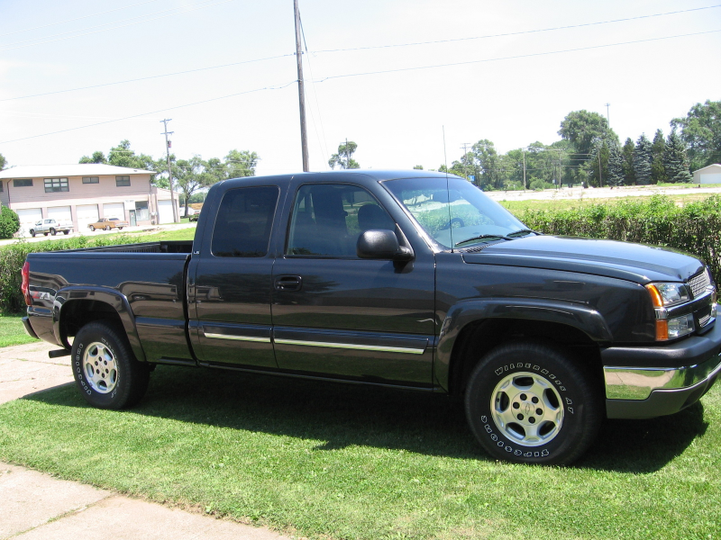 2003 Chevrolet Silverado 1500 LS Ext Cab Short Bed 4WD picture ...