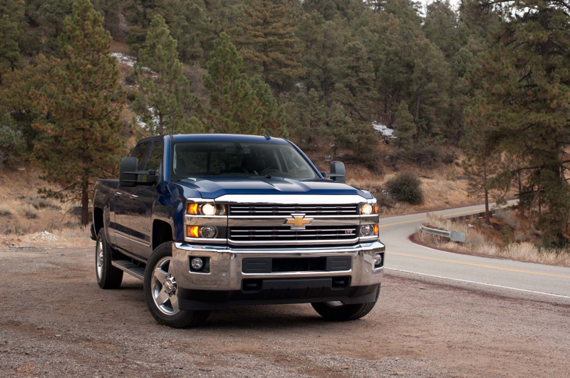 2015 Chevrolet Silverado 2500 HD LTZ 4x4 First Test Photo Gallery