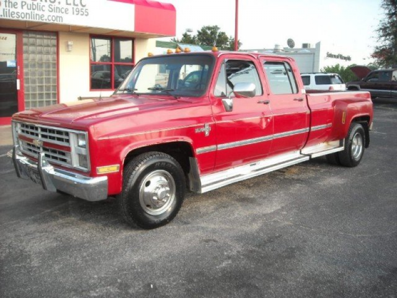 ... Categories > Ungrouped > 1988 Chevrolet C/K Pickup 3500 Chevrolet