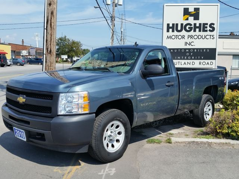 2010 Chevrolet Silverado 1500 WT - Toronto, Ontario Used Car For Sale ...