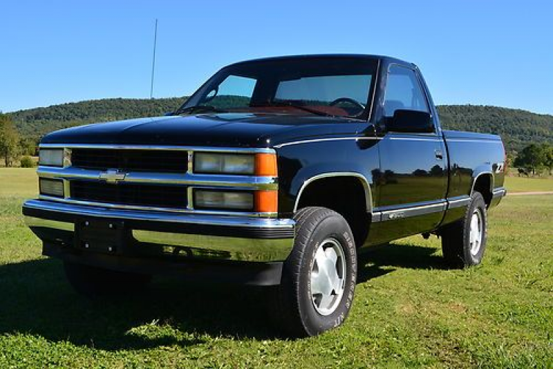 1997 Chevrolet Silverado Short Wide 4 Wheel Drive on 2040-cars