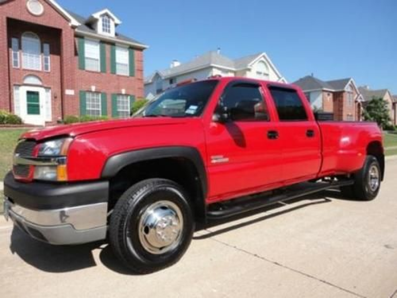 Chevrolet Silverado LT 3500 4 Wheel Drive 4X4 Crew Cab,CD Player-CD ...