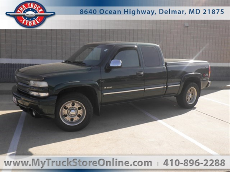 2001 Chevrolet Silverado 1500 4X4 EXT CAB 5.3 LOCAL TRADE Extended Cab ...