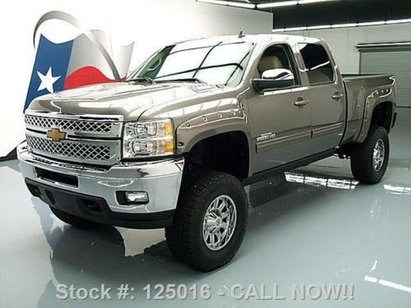 2013 CHEVY SILVERADO 2500 LTZ 4X4 LIFT DIESEL NAV 5K MI TEXAS DIRECT ...