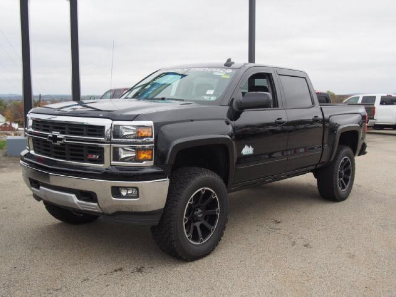 New 2015 Chevrolet Silverado 1500 LT Crew Cab Rocky Ridge Package 4WD