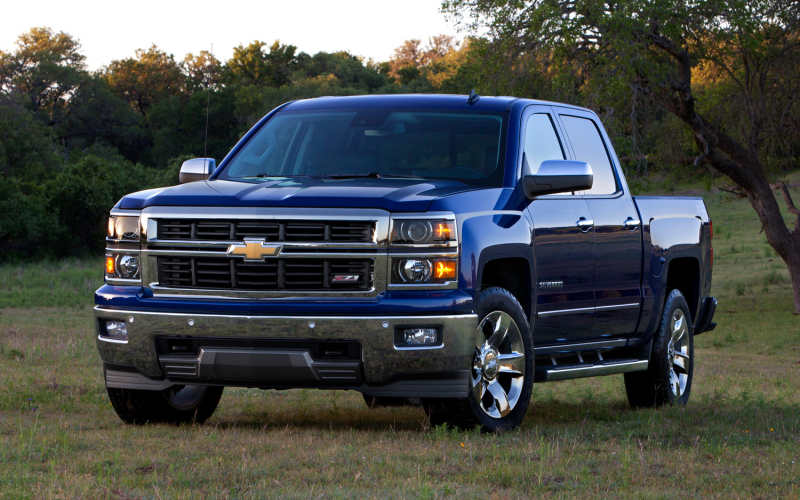 2014 Chevrolet Silverado Lt Z71 Front Three Quarters