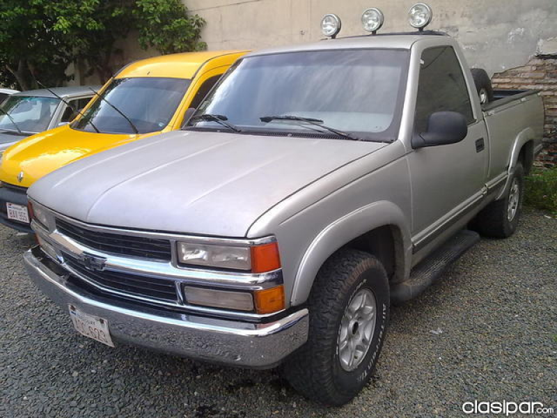 CHEVROLET SILVERADO V6 TURBO DIESEL MECANICO,CABINA SIMPLE 4X2