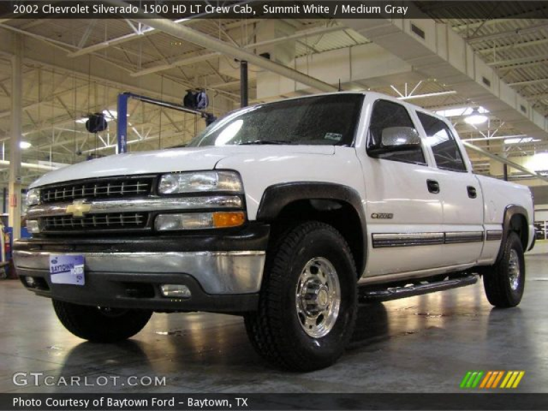 2002 Chevrolet Silverado 1500 HD LT Crew Cab in Summit White. Click to ...