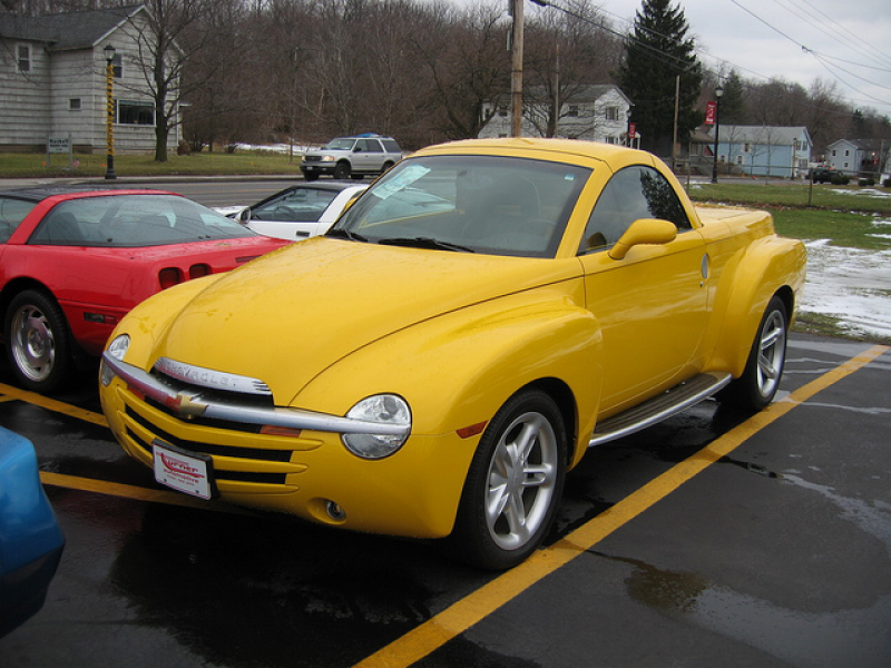Chevrolet SSR Pickup Convertible