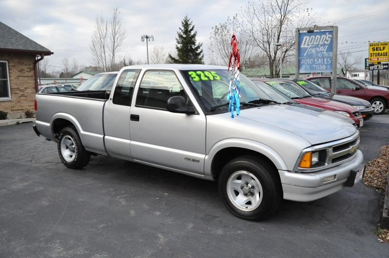 1997 Chevrolet Silver S10 LS Ext Cab Used Pickup Truck Beach Park Auto ...