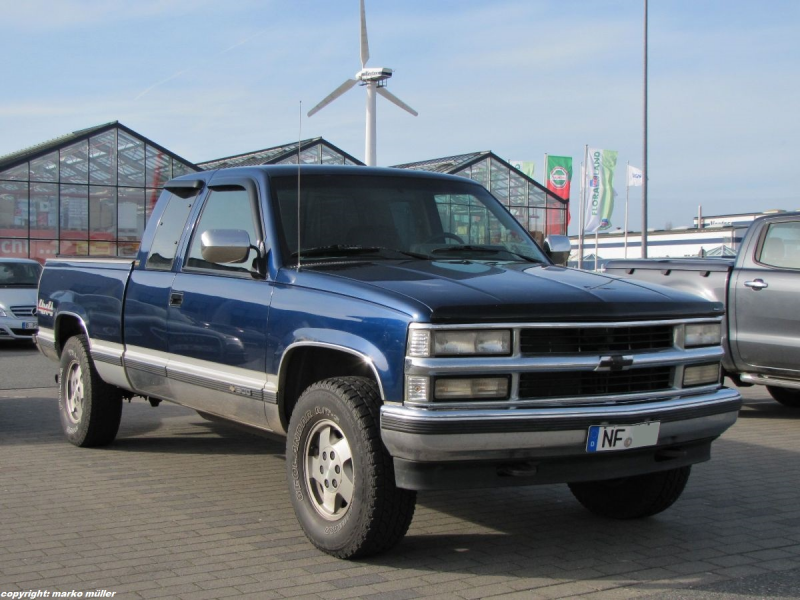 Chevrolet K1500 SILVERADO, aufgenommen in Husum, April 2015 ...