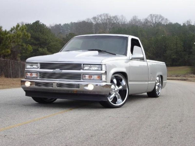 "1995 Chevrolet C/K Pick-Up ""silver bullet"" - social circle, GA owned ..."
